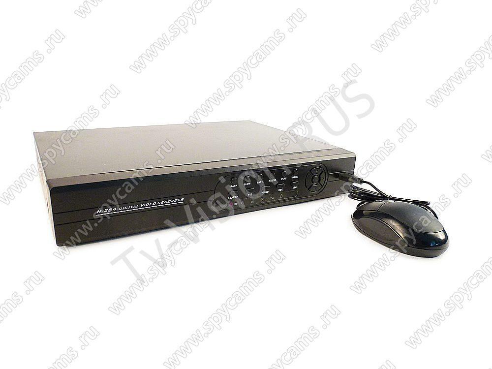Видеорегистратор SKY-H4808AR гибридного типа с функцией P2P и поддержкой IP камер L00204