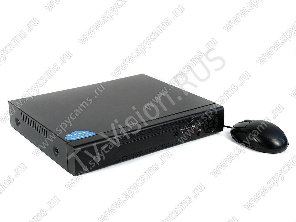 """4-канальный AHD видеорегистратор """"KDM-5504Q"""" видеозапись с 4-х мегапиксельных AHD камер L00214"""