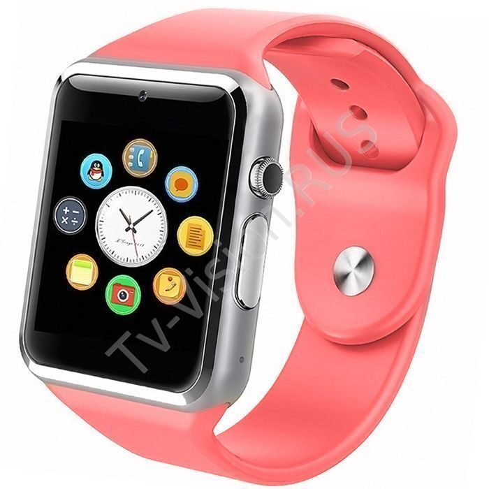 Умные часы Smart Watch A1 Pink купить в интернет-магазине f716b24eeab9c