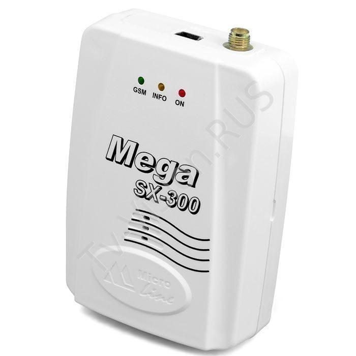 GSM сигнализация Mega SX-300 Light с WEB-интерфейсом 110059