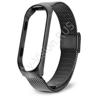 Ремешок Xiaomi Mi Band 3 Milanese Loop черный