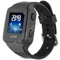 Умные часы с GPS Gator 3 Caref Watch Black