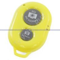 Кнопка для селфи Bluetooth Remote Shutter Camera 360 Yellow